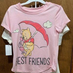 Disney Winnie the Pooh 4t girls shirts